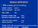 queue definition