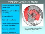 pips 2 0 ocean ice model