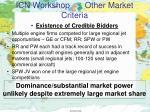 icn workshop other market criteria3
