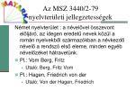 az msz 3440 2 79 nyelvter leti jellegzetess gek5