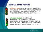 coastal state powers