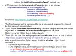 note on the initwebkitanimationevent method part 1