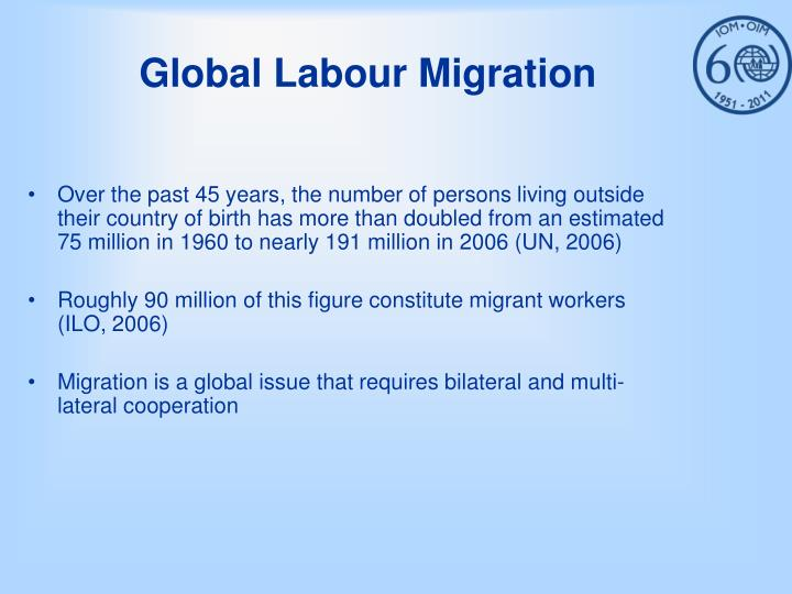 Global labour migration
