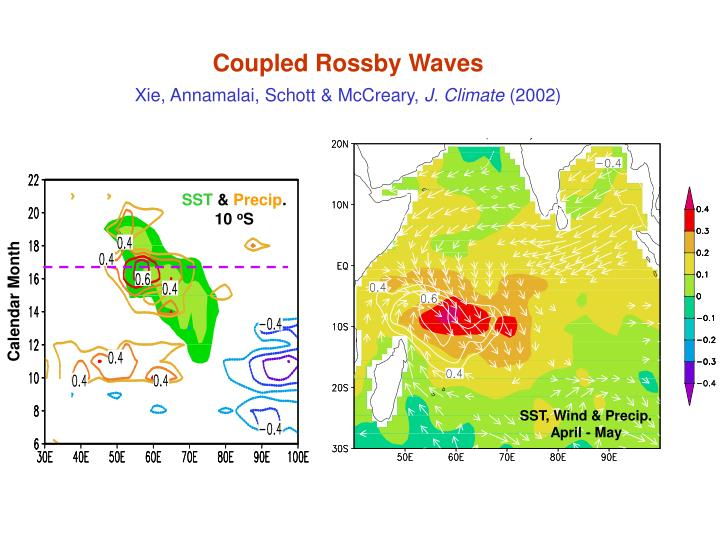 Coupled Rossby Waves