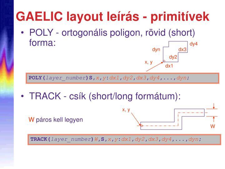 POLY - ortogon
