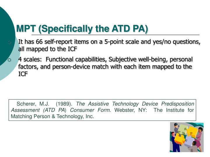 MPT (Specifically the ATD PA)