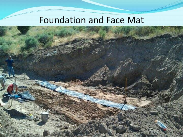 Foundation and Face Mat