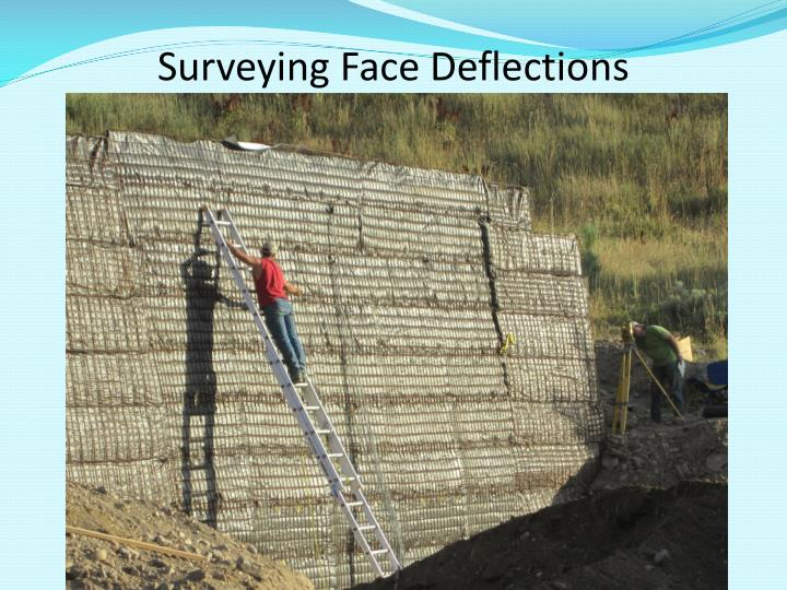 Surveying Face Deflections