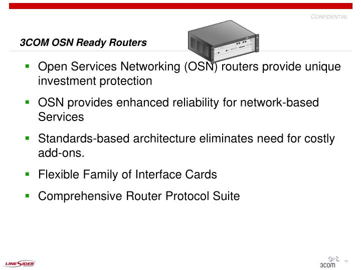 3COM OSN Ready Routers
