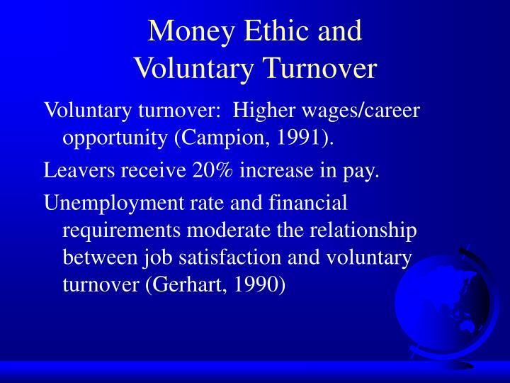 Money Ethic and