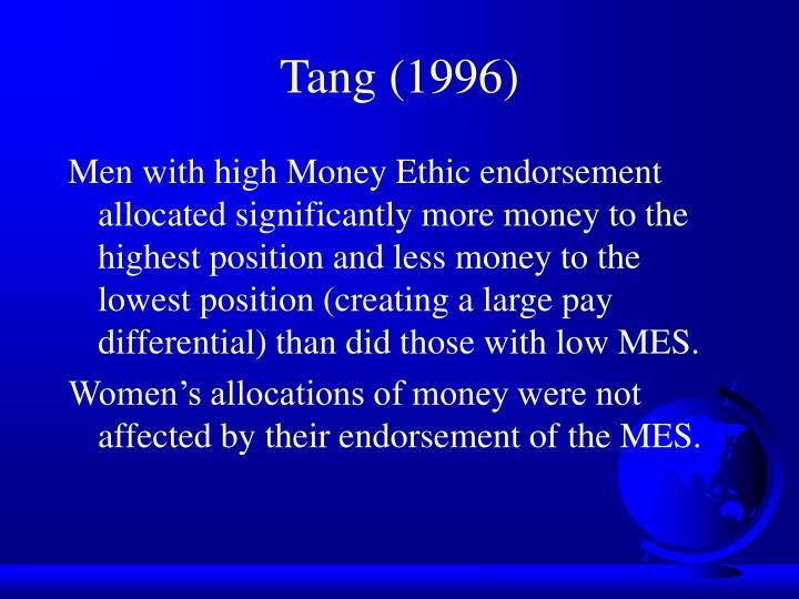 Tang (1996)
