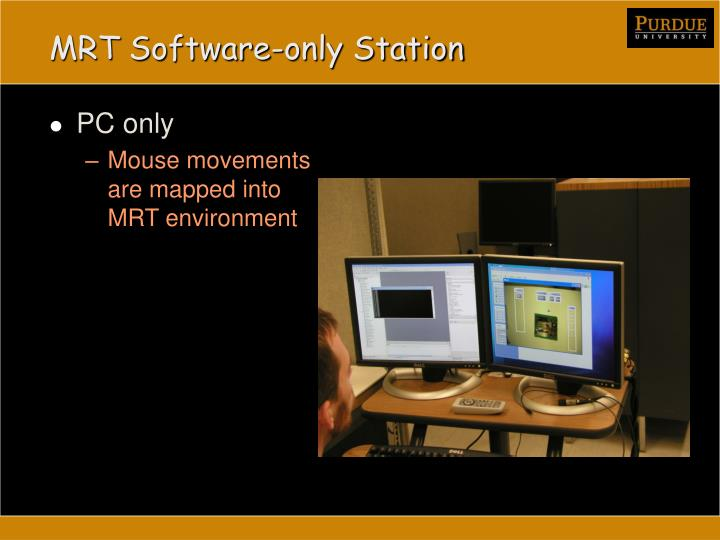 MRT Software-only Station
