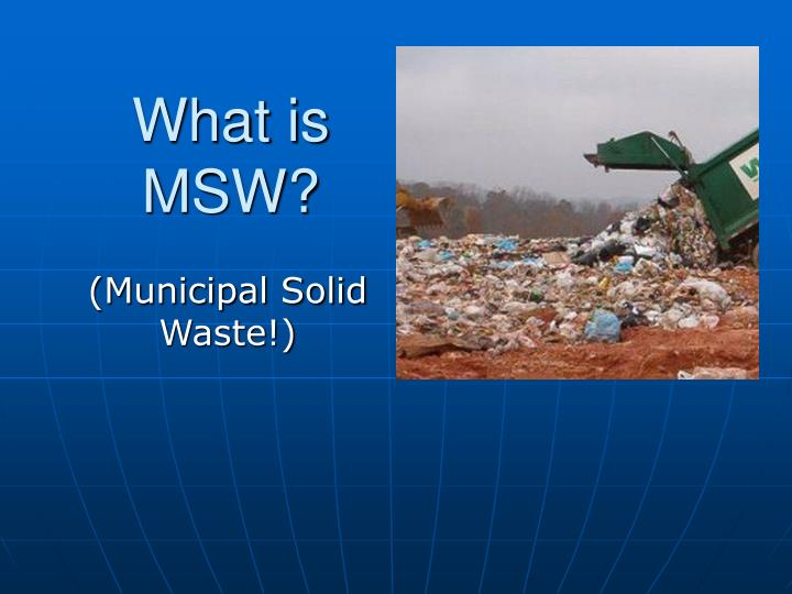 what is msw n.