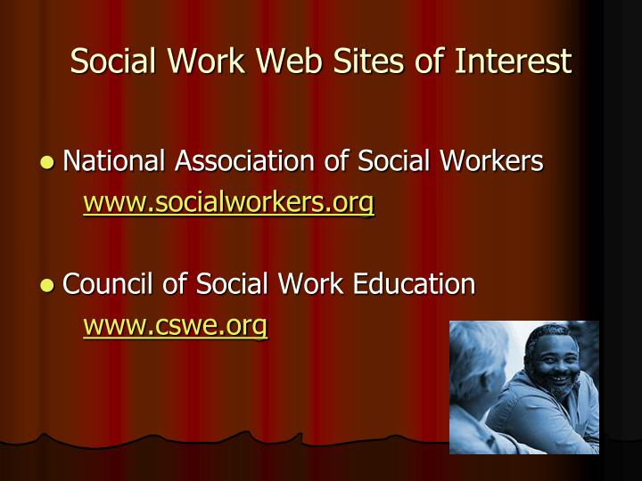 Social Work Web Sites of Interest