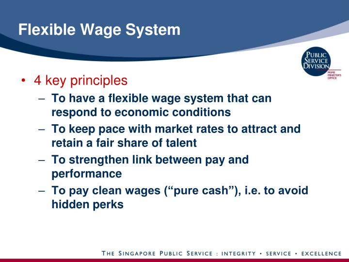 Flexible Wage System