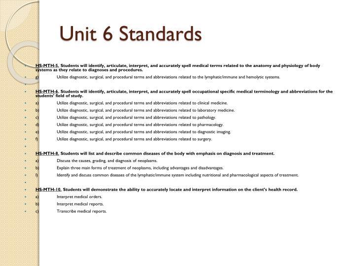Ppt Health Informatics Medical Terminology Unit 6 Hs Mth 5 6 8