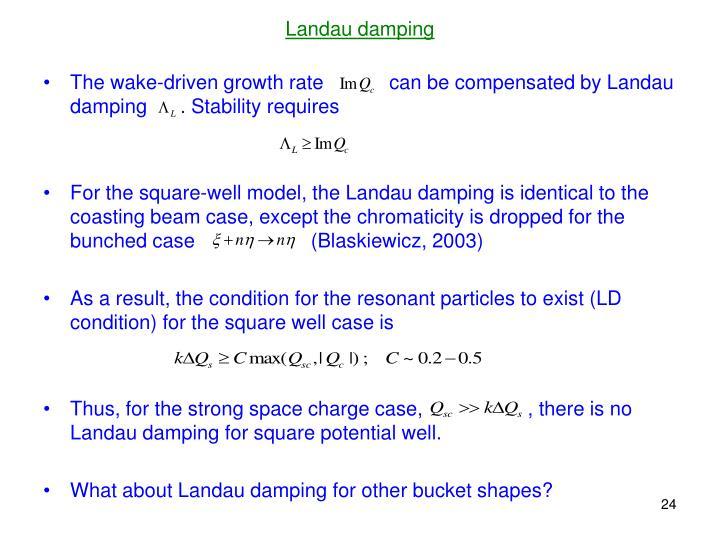 Landau damping