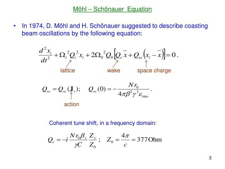 M hl sch nauer equation