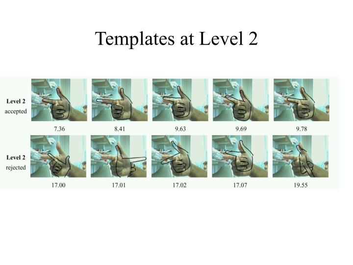 Templates at Level 2