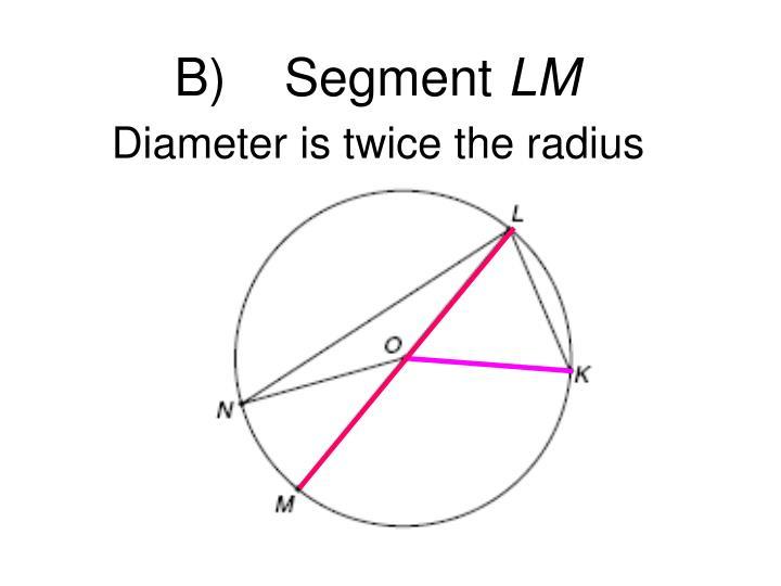 B)    Segment