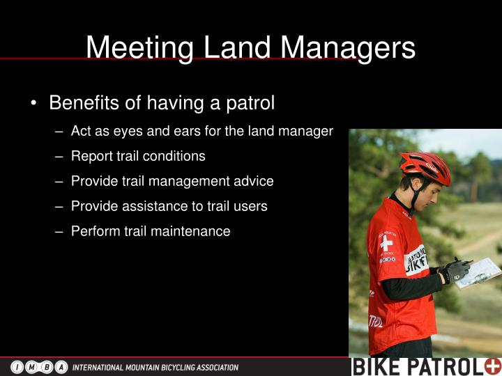 Meeting Land Managers