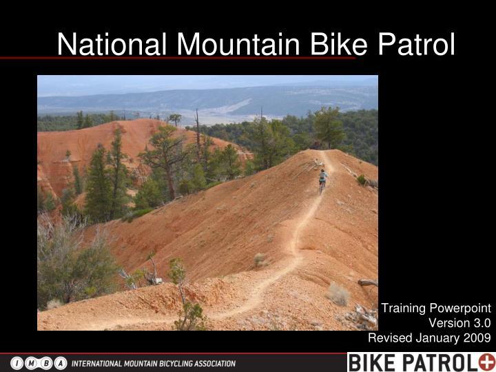 National mountain bike patrol