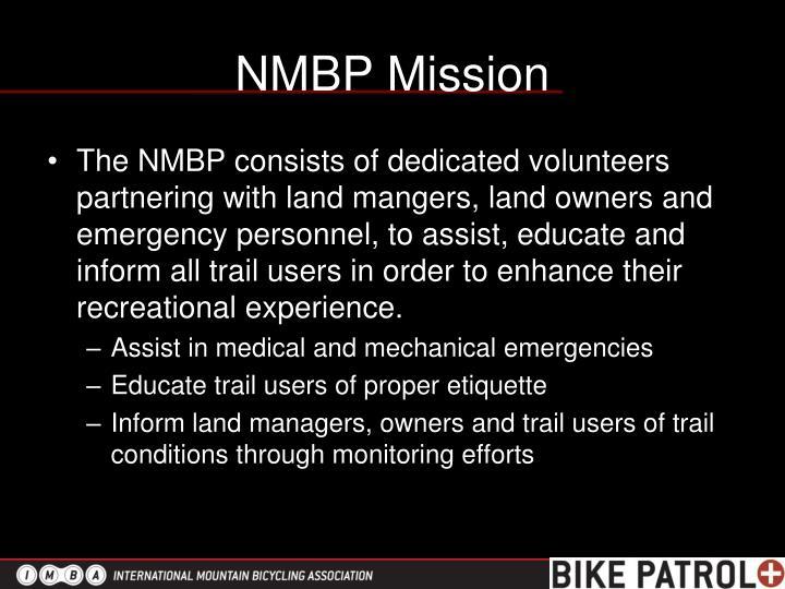 Nmbp mission