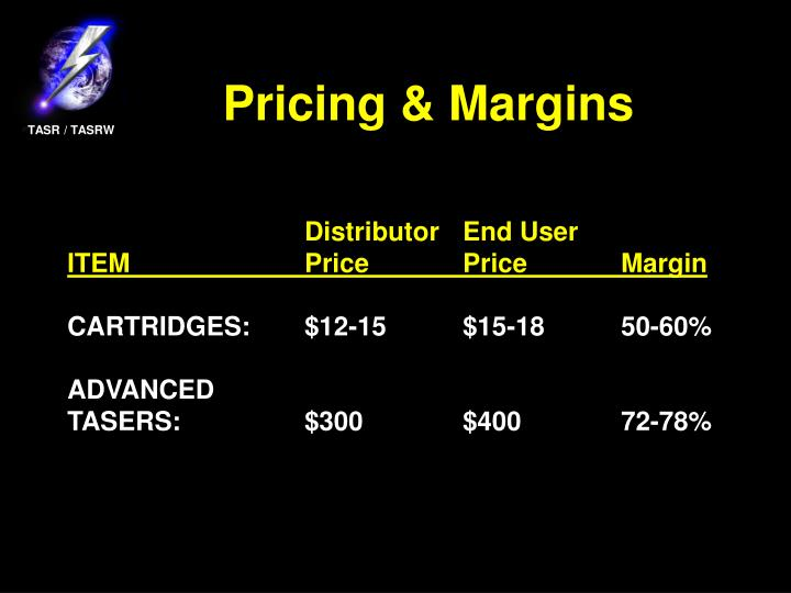 Pricing & Margins