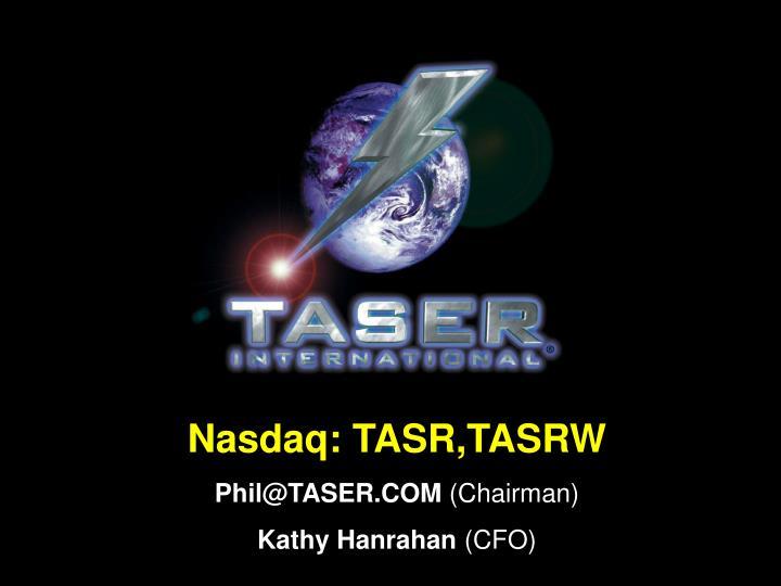 Nasdaq: TASR,TASRW