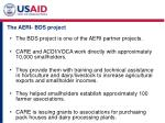 the aeri bds project