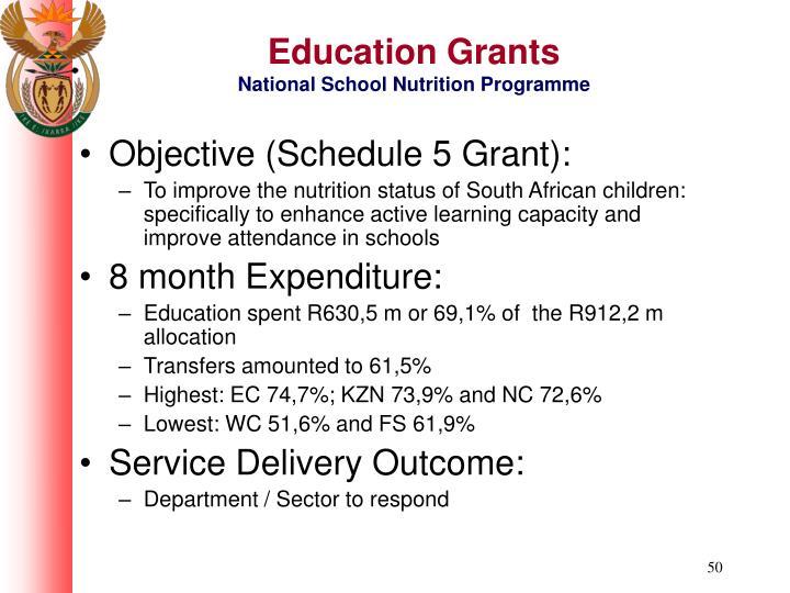 Education Grants