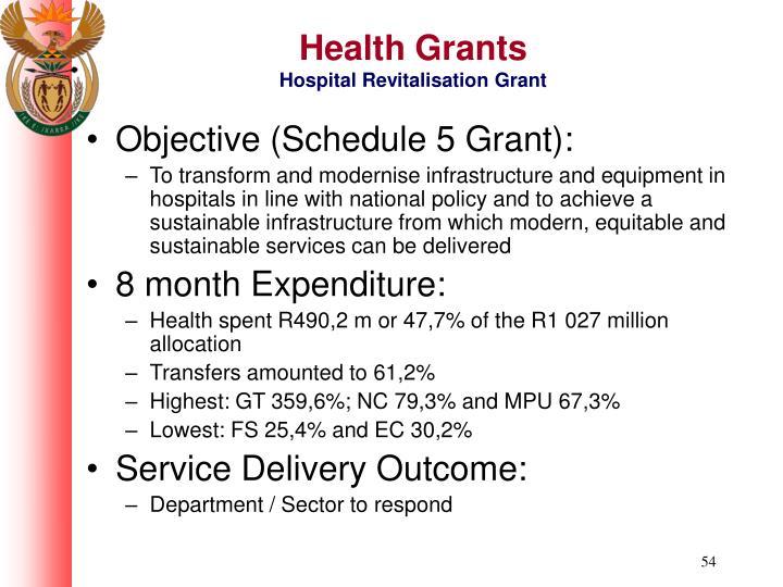 Health Grants