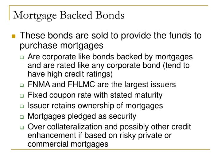 Mortgage Backed Bonds