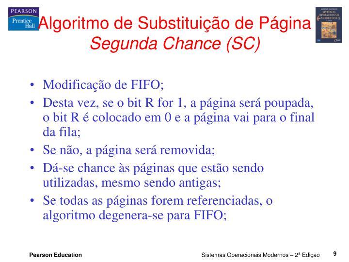 Algoritmo de Substituição de Página