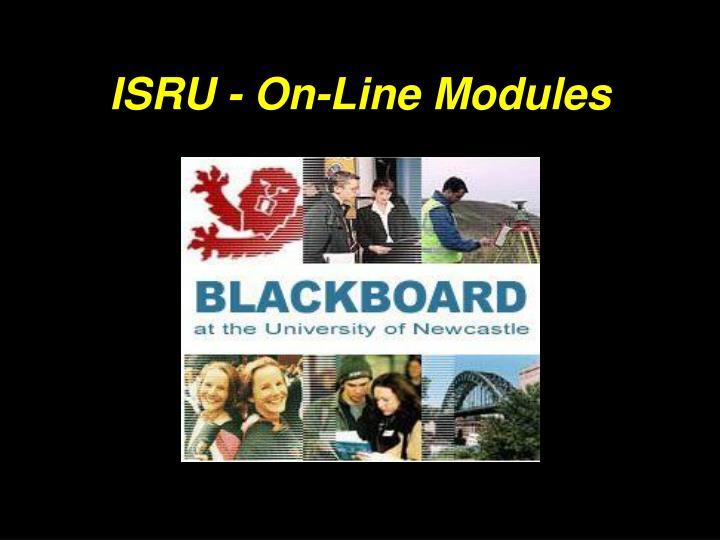 ISRU - On-Line Modules