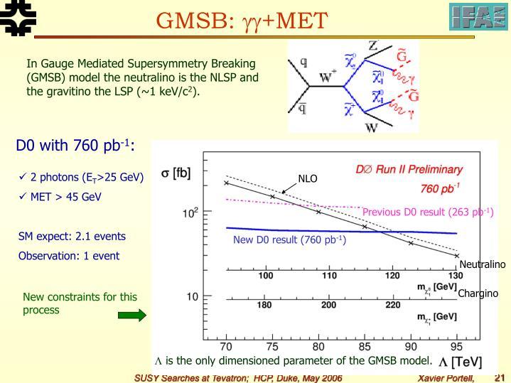 GMSB: