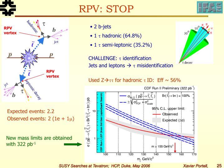 RPV: STOP