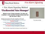 fire alarm signaling