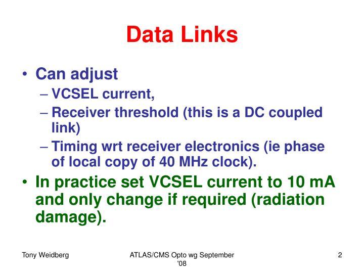 Data links