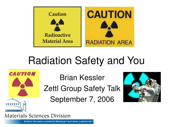radiation safety and you n.