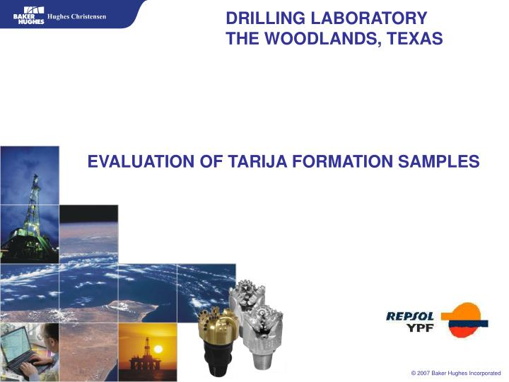 Drilling laboratory the woodlands texas