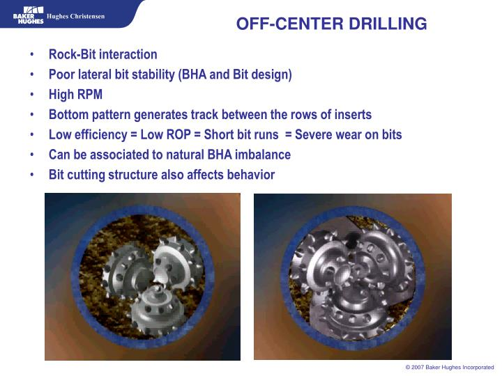 OFF-CENTER DRILLING