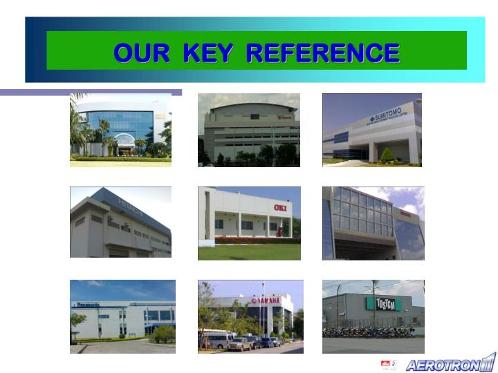 OUR  KEY  REFERENCE