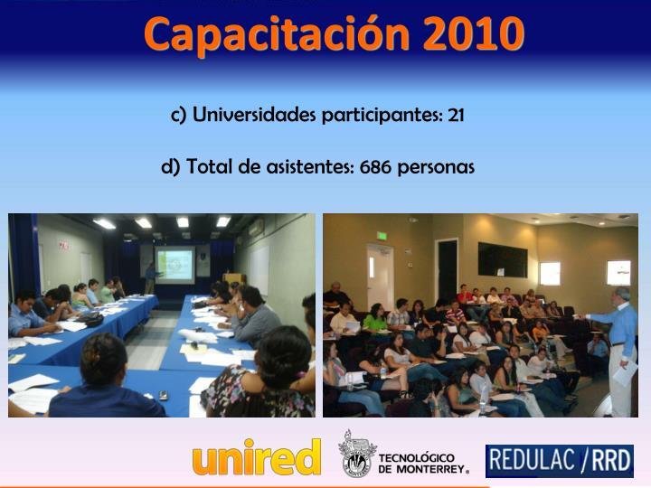 Capacitación 2010