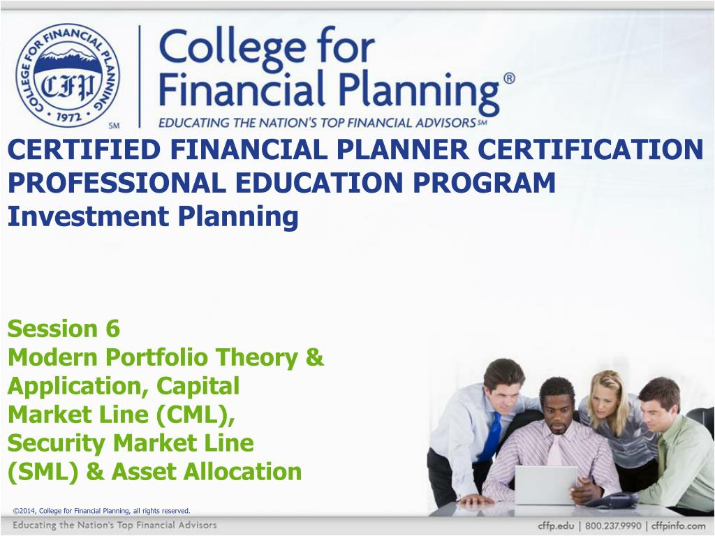 Ppt certified financial planner certification professional certified financial planner certification professional education program investment planning xflitez Choice Image