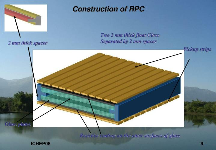 Construction of RPC