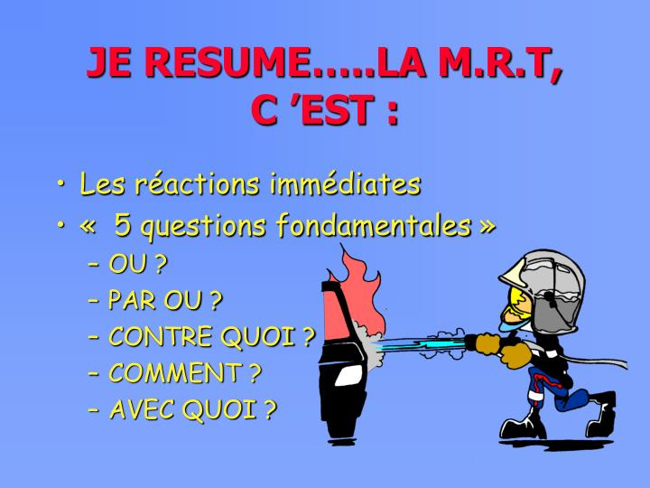 ppt - la methode de raisonnement tactique mrt powerpoint presentation