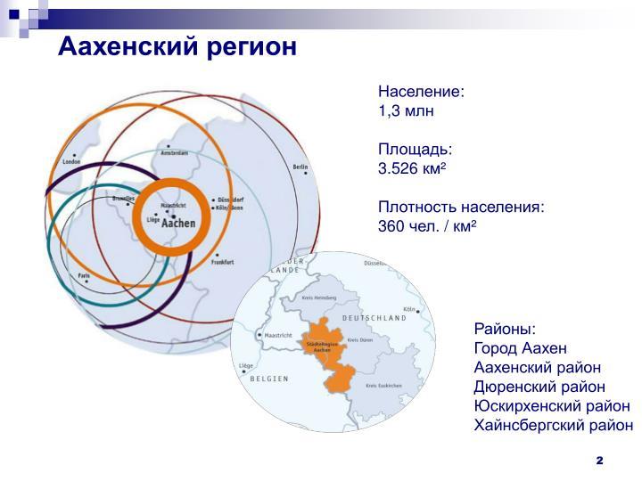 Аахенский регион