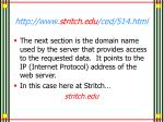 http www stritch edu ced 514 html2