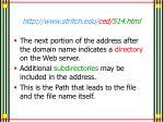 http www stritch edu ced 514 html8